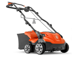 Husqvarna S 138C Elektrinis skarifikatorius 220V; 46 L; 38cm;  21 kg; 2+1